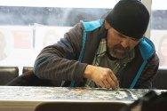 Community Member: Glen Sam solving a puzzle