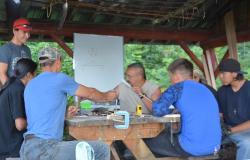 Survival Training at Tezzeron Lake